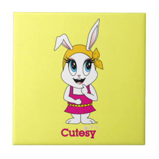 Cutesy Bunny™  Tile