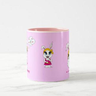 Cutesy Bunny™ Two Tone Mug