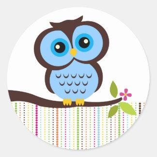 Cutesy Owl Stickers