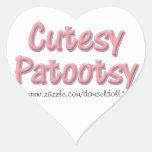 Cutesy Patootsy Sticker