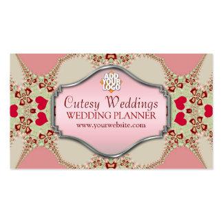 Cutesy Wedding Planner Business Card