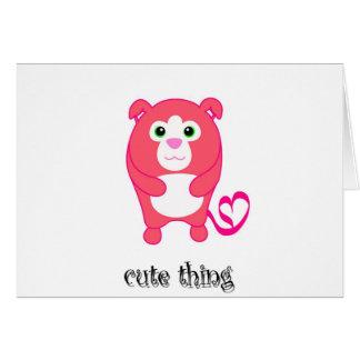 CuteThing copy Card