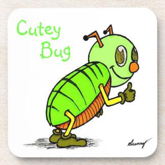 Cutey Bug Cork Coaster