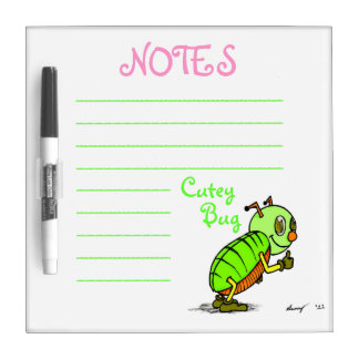 Cutey Bug Dry Erase Board
