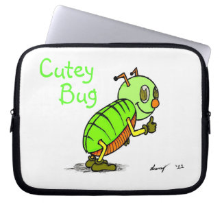 Cutey Bug Laptop Sleeve