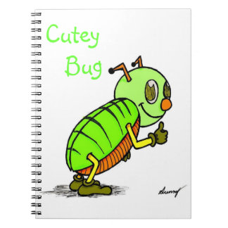Cutey Bug Notebook