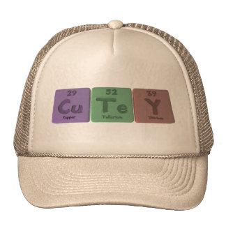 Cutey-Cu-Te-Y-Copper-Tellurium-Yttrium.png Gorras De Camionero