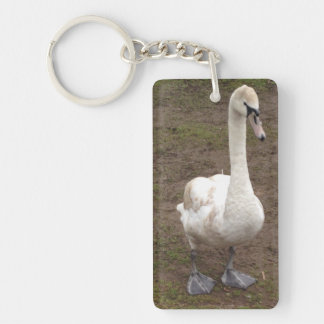 Cutey Duck keychain suitable for all ages.