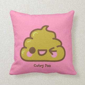 Cutey personalizado Poo Cojín