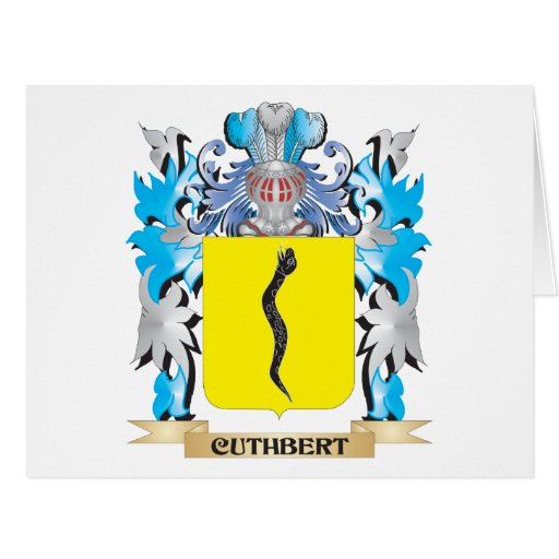 Cuthbert Coat of Arms - Family Crest Cards