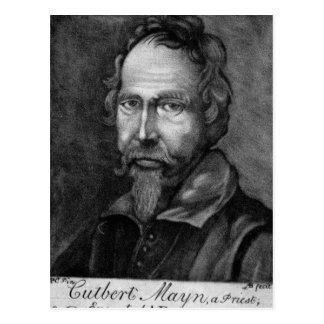 Cuthbert Mayne, 1579 Postcard
