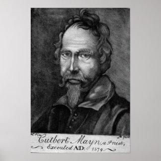 Cuthbert Mayne 1579 Poster