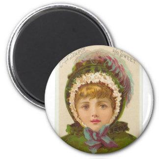 Cutie 2 Inch Round Magnet
