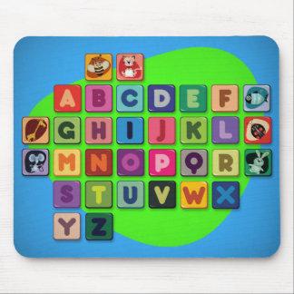 Cutie Alphabet Mousepad