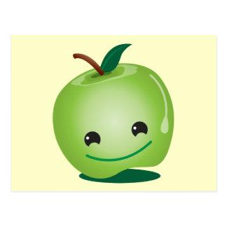 Cutie apple kawaii cute postcard