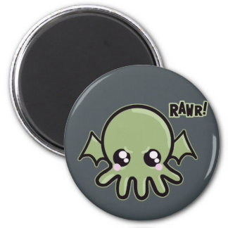 Cutie Baby Cthulhu 2 Inch Round Magnet