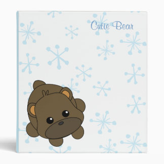 Cutie Bear Binders