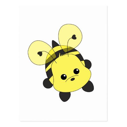 Cutie Bee Postcard