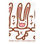 Cutie bunny customized stationery