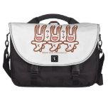 Cutie bunny laptop bags
