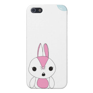 Cutie Bunny With A Flower iPhone 5 Cases