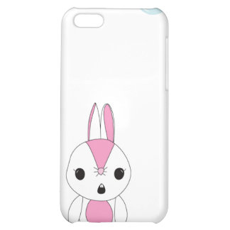 Cutie Bunny With A Flower iPhone 5C Cases