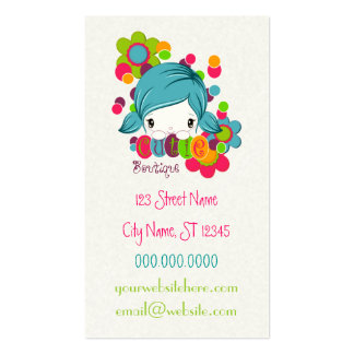 Cutie Double-Sided Standard Business Cards (Pack Of 100)