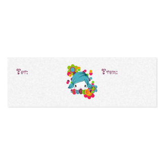 Cutie Double-Sided Mini Business Cards (Pack Of 20)