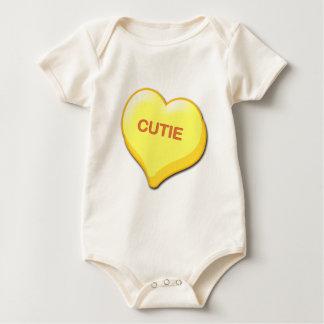 Cutie Candy Heart Baby Bodysuit