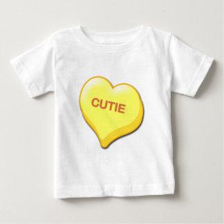 Cutie Candy Heart Baby T-Shirt