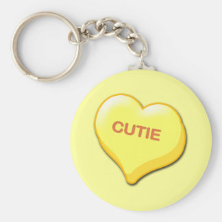 Cutie Candy Heart Key Chains