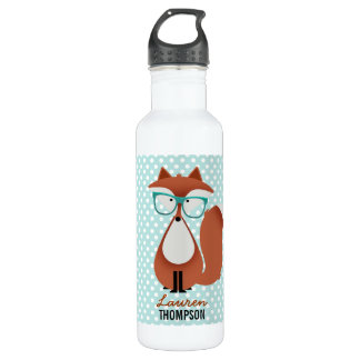 Cutie Cartoon Fox 24oz Water Bottle