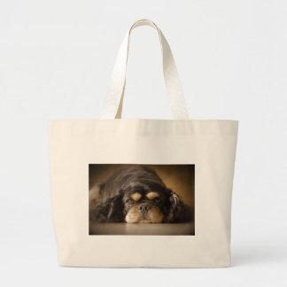 Cutie Cav! Large Tote Bag