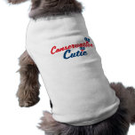 Cutie conservador ropa perro