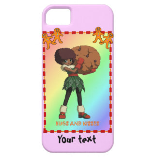 Cutie Cookie and ginerbread men iPhone SE/5/5s Case