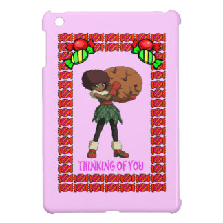 Cutie cookie and the toffees iPad mini cover