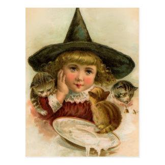 cutie de Halloween del vintage Tarjetas Postales