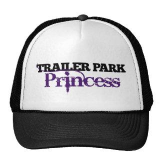 Cutie de la princesa del parque de caravanas gorras