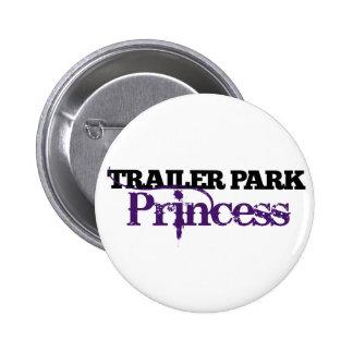 Cutie de la princesa del parque de caravanas pins