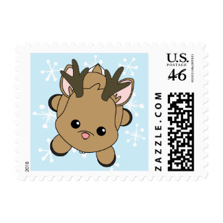 Cutie Dear Postage Stamps