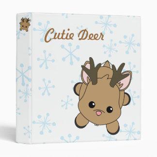 Cutie Dear Vinyl Binders