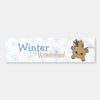 Cutie Deer Bumper Stickers