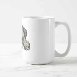 Cutie del barro amasado tazas de café