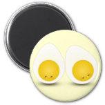 Cutie Eggs 2 Inch Round Magnet
