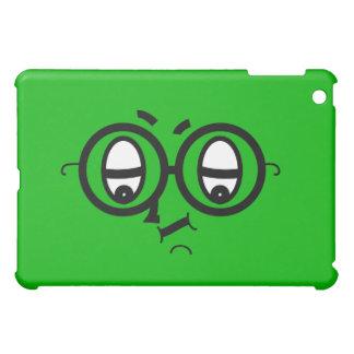 Cutie Faces - green case for iPad Case For The iPad Mini