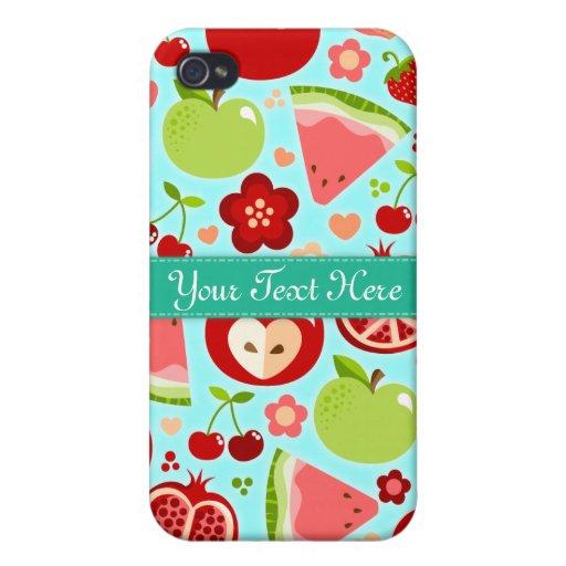 Cutie Fruities iPhone 4 Funda