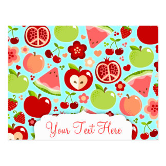 Cutie Fruities Postcard