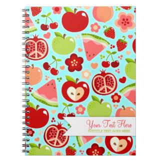 Cutie Fruities Spiral Notebook