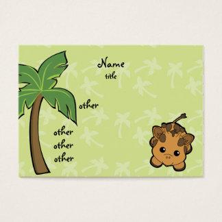 Cutie Giraffe Business Card