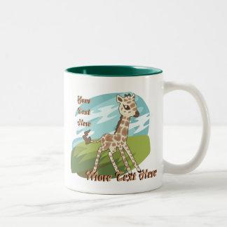 Cutie Giraffe Mug